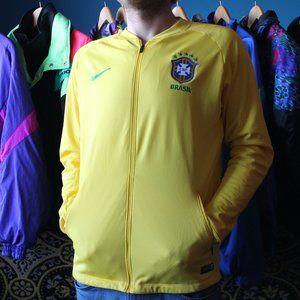 Nike Brasil CBF Soccer Dri-fit Authentic Football